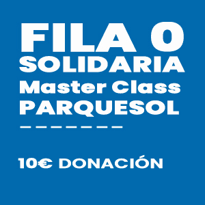 Fila 0 solidaria Master Class Ciclo VI Fiestas de Parquesol