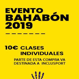 Clases individuales - Evento Bahabón 2019