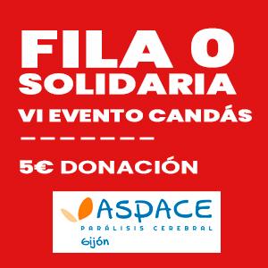 Fila 0 Solidaria, VI Evento Candás